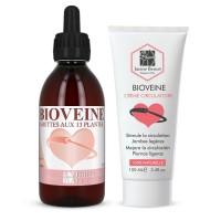 Pack Bioveine - Gouttes 250 ml + Crème 100 ml