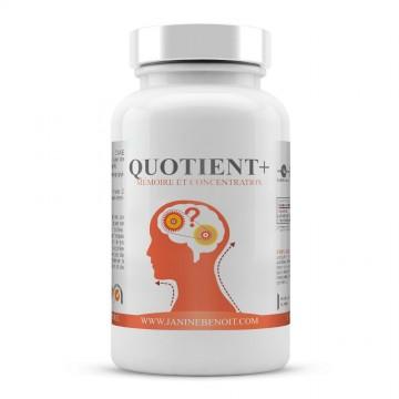 Quotient + - Mémoire & Concentration