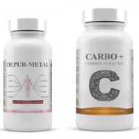 Pack DepurMetal & Carbo+ - Métaux lourds...