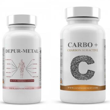 Pack DepurMetal & Carbo+ - Métaux lourds