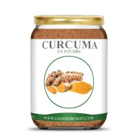 Curcuma naturelle en poudre