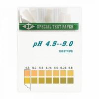 100 bandelettes TEST PH - Équilibre Acido Basique