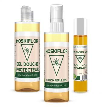 Pack Moskiflor - Produits Répulsifs Contre Les Moustiques