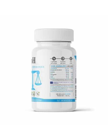 pH - Équilibre Acido Basique - Vue de droite