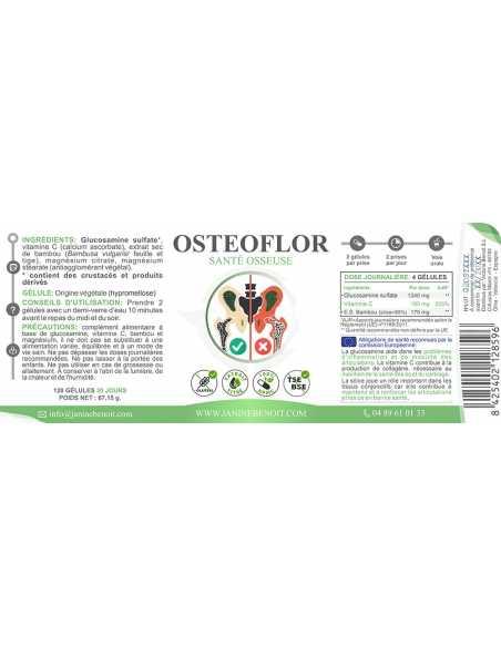 Ostéoflor - Complément alimentaire naturel pour la densité osseuse