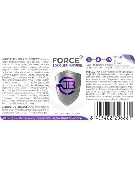 Force+ - Défenses naturelles