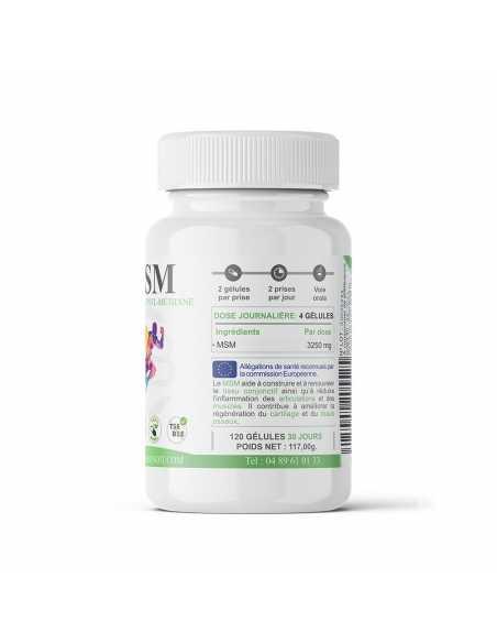 Méthyl-Sulfonyl-Méthane en gélule - Complément alimentaire
