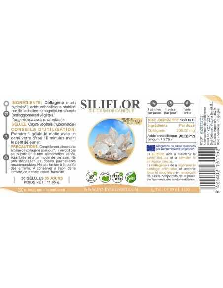 Siliflor gélules - Silicium organique