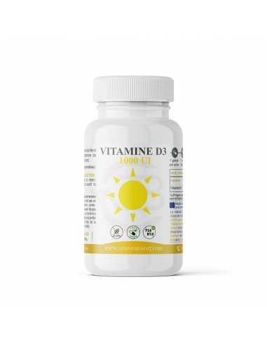 Vitamine D3 1000 UI- Complément alimentaire - Laboratoire Phytotherapie