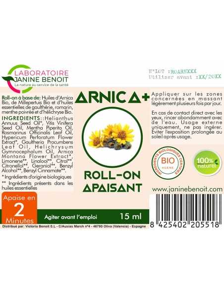 Arnica+ Roll-On - application locale