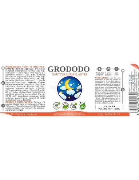 Grododo gouttes - Complément alimentaire naturel - Sommeil