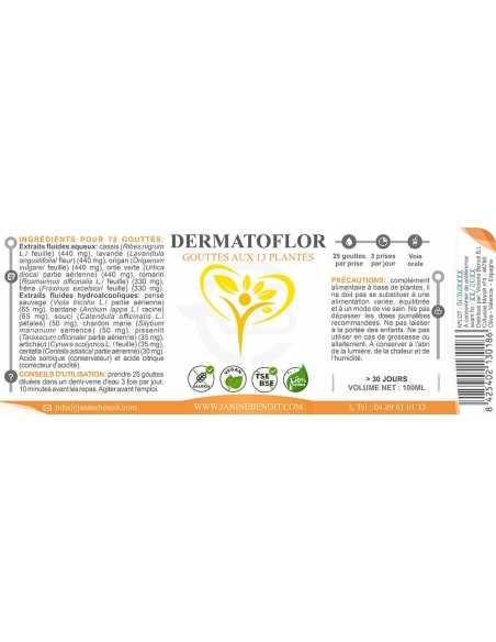 Dermatoflor - Dépuratif du foie et de la peau