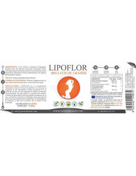 Lipoflor - Complément alimentaire naturel - Brûle-graisse naturel