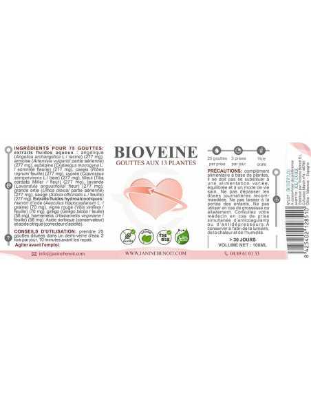 Bioveine gouttes - Circulation sanguine