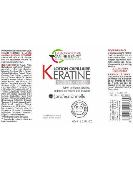 Keratine Lotion - Soin Régénérateur Capillaire