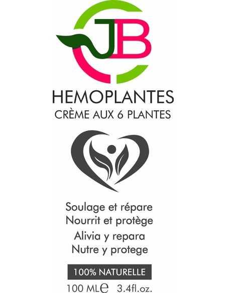 Hémoplantes, crème pour le traitement des hémorroïdes