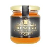 Miel de fleur d'oranger et de gelée royale 250 gr