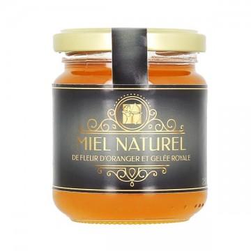 Miel de fleur d'oranger et de gelée royale 250 gr - Immunité