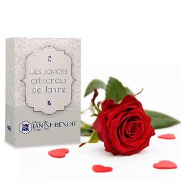 Savon Artisanal Parfumé à la Rose