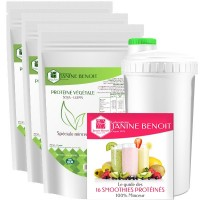 Pack 3 Stopoforme Protéine + 1 Shaker offert + Guide smoothie offert