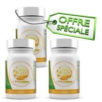 Offre Exceptionnelle Q10 + Vitamines - 3 Mois de cure